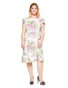 ROMANTIC GARDEN DRESS MULTI (EXTENDED SIZING)