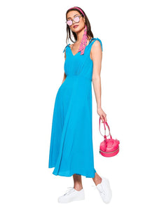 INSTANT CONNECTION DRESS TURQUOISE