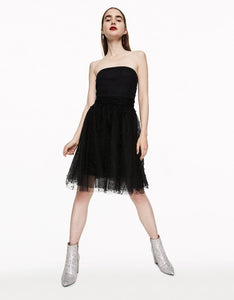 PERFECT PEARL PARTY DRESS BLACK