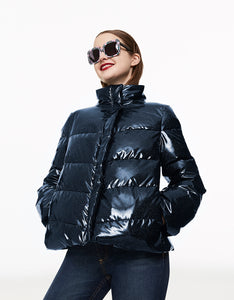 BETSEYS BEST PUFFER JACKET NAVY