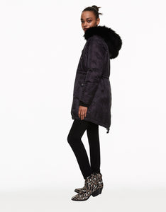 SUPER STAR PUFFER COAT BLACK