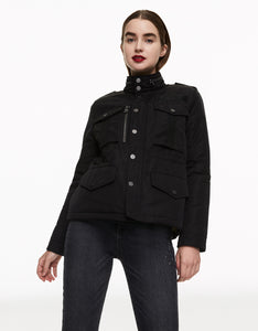 FLY BY FIELD JACKET BLACK