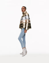 BETSEYS BEST PUFFER JACKET GOLD - APPAREL - Betsey Johnson