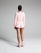 LET ME SLEEP JERSEY SHORT PINK - APPAREL - Betsey Johnson