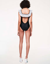 DOTS AMORE ONE PIECE BLACK/WHITE - APPAREL - Betsey Johnson