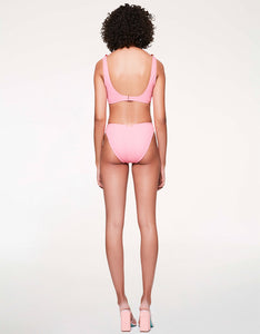 SCRUNCH BRUNCH HIGH WAIST BOTTOM PINK