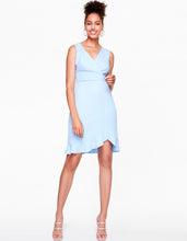 SHIFTING RUFFLES DRESS LIGHT BLUE - APPAREL - Betsey Johnson