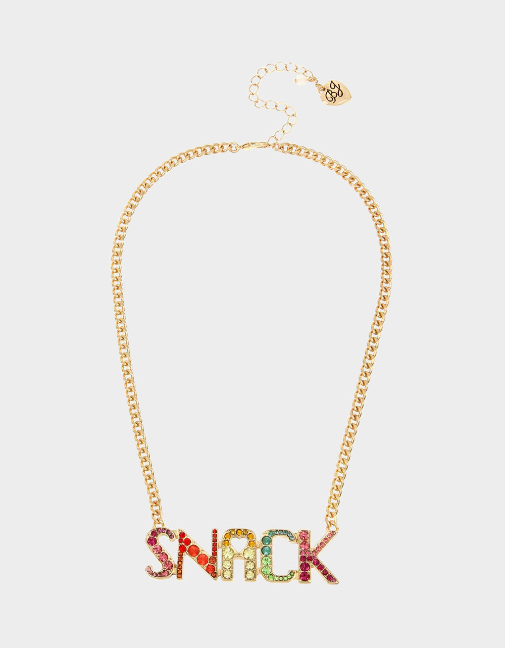 SNACK ATTACK PENDANT MULTI - JEWELRY - Betsey Johnson