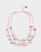 BEACH PARTY STATEMENT NECKLACE MULTI - JEWELRY - Betsey Johnson