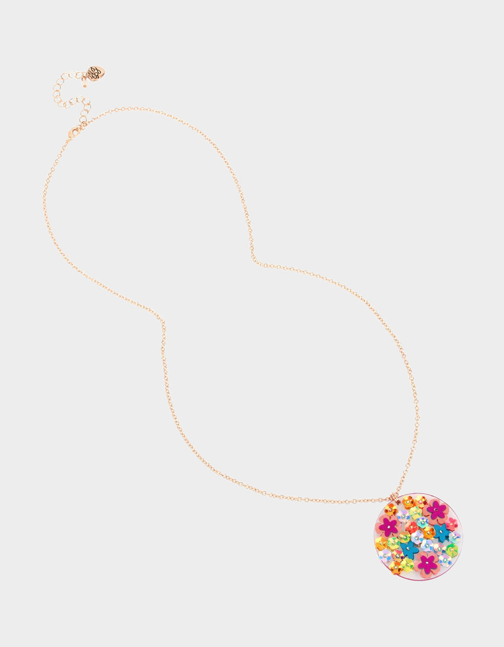 BEACH PARTY DISC PENDANT MULTI - JEWELRY - Betsey Johnson