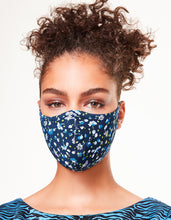 PRINTED FASHION FACE MASK SET BLUE MULTI - ACCESSORIES - Betsey Johnson