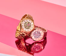 LEAPING INTO THE MIDDLE WATCH ROSE GOLD - JEWELRY - Betsey Johnson
