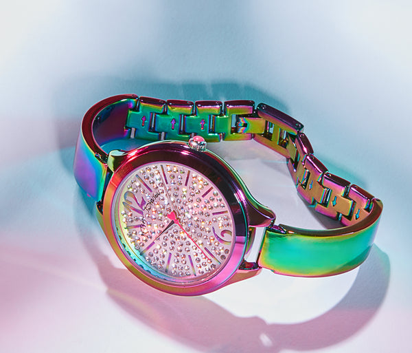 RAINBOW LIFE WATCH MULTI - JEWELRY - Betsey Johnson