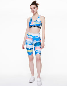 GEOSCAPE PRINTED SHORT MULTI