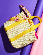 A TISKET A TASKET BASKET TOTE YELLOW - HANDBAGS - Betsey Johnson