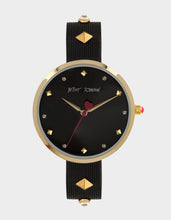 A MOMENT IN TIME WATCH BLACK - JEWELRY - Betsey Johnson