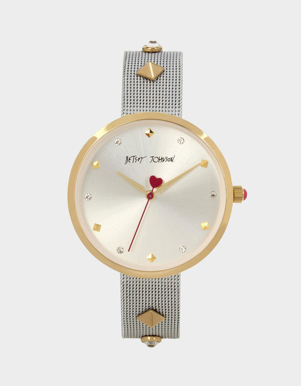A MOMENT IN TIME WATCH WHITE - JEWELRY - Betsey Johnson