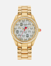 ALL THE SKULLS WATCH GOLD - JEWELRY - Betsey Johnson