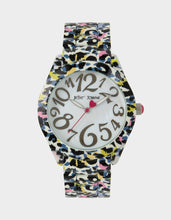 ALLOVER FLORAL WATCH BLACK MULTI - JEWELRY - Betsey Johnson