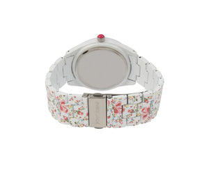ALLOVER PRINTED WATCH WHITE MULTI