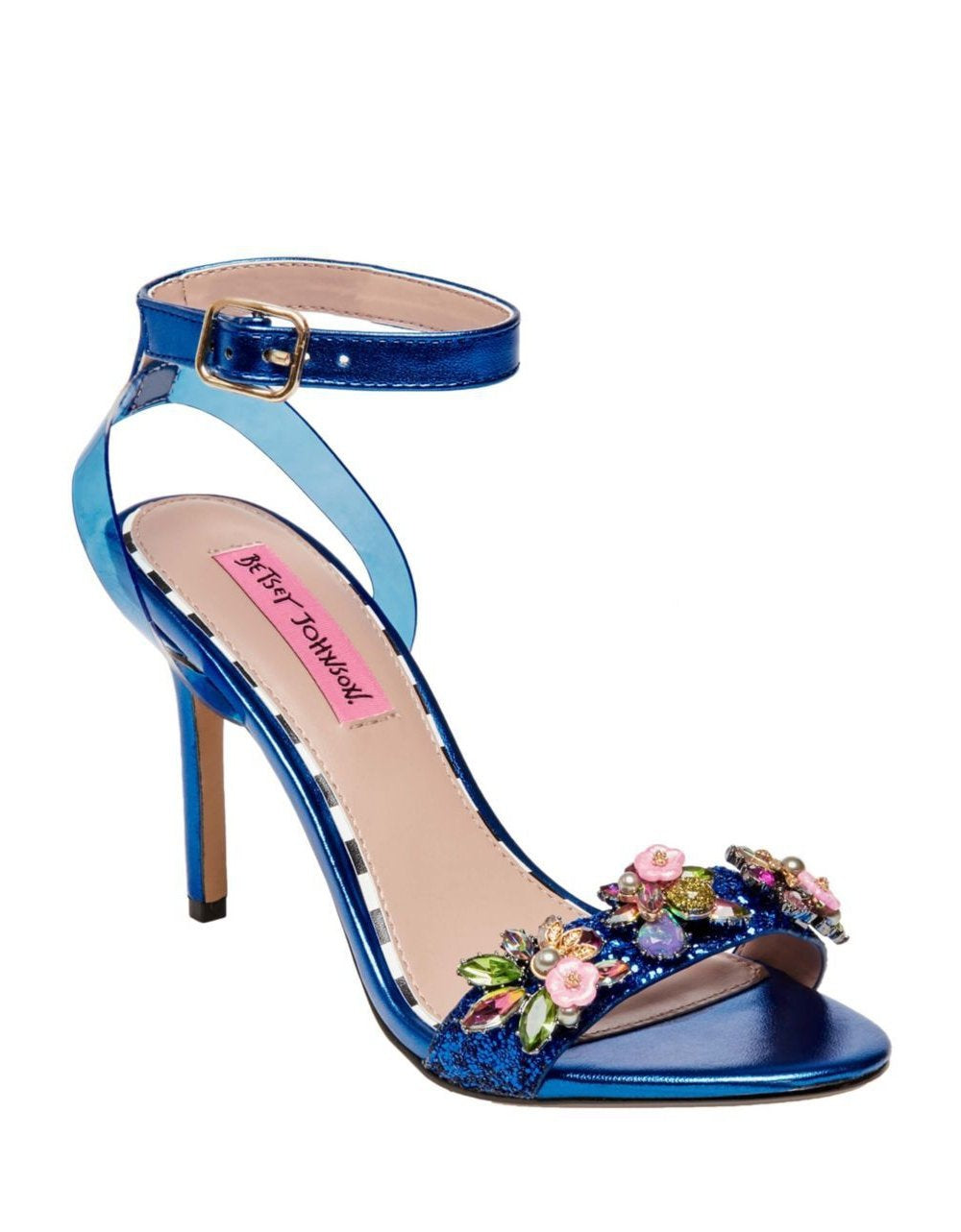 ALYNA BLUE MULTI - SHOES - Betsey Johnson