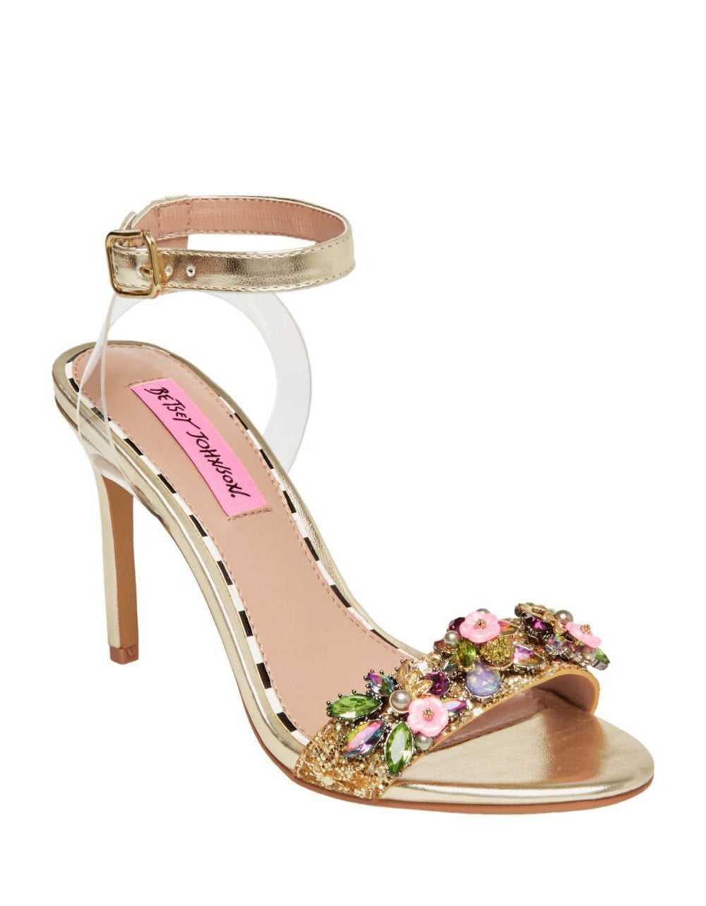 ALYNA GOLD MULTI - SHOES - Betsey Johnson