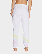ANGLED TIE DYE SWEATPANT WHITE - APPAREL - Betsey Johnson