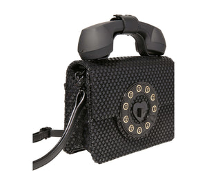 ANSWER ME PHONE BAG BLACK