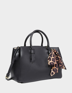ANYTHING BUT BASIC BETSEY SATCHEL BLACK