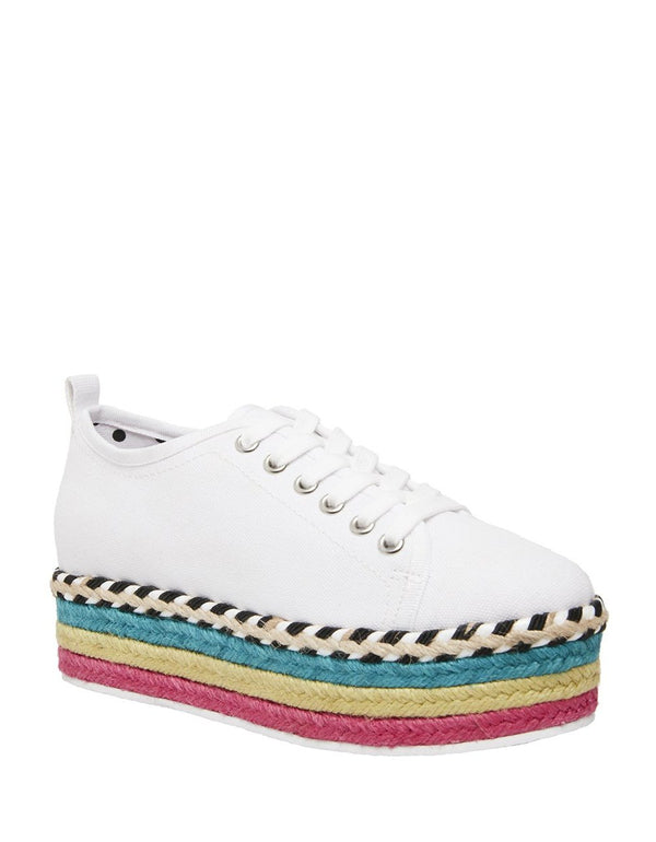ARBOR WHITE MULTI - SHOES - Betsey Johnson