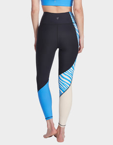 ARC COLORBLOCK LEGGING BLUE MULTI
