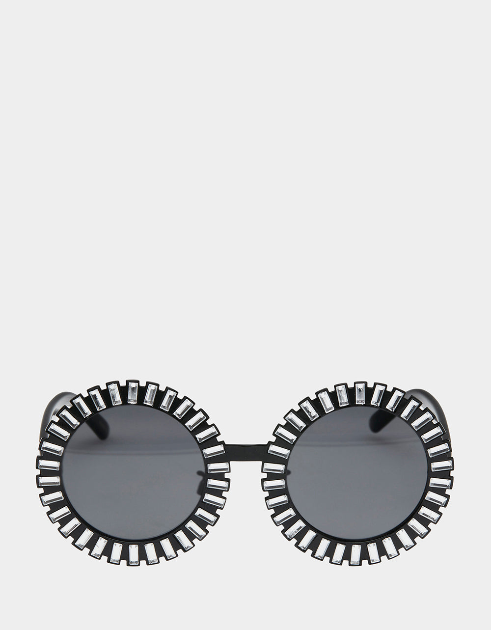 AROUND THE WORLD SUNGLASSES BLACK SILVER - ACCESSORIES - Betsey Johnson