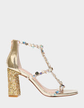 ASTRIDD GOLD MULTI - SHOES - Betsey Johnson