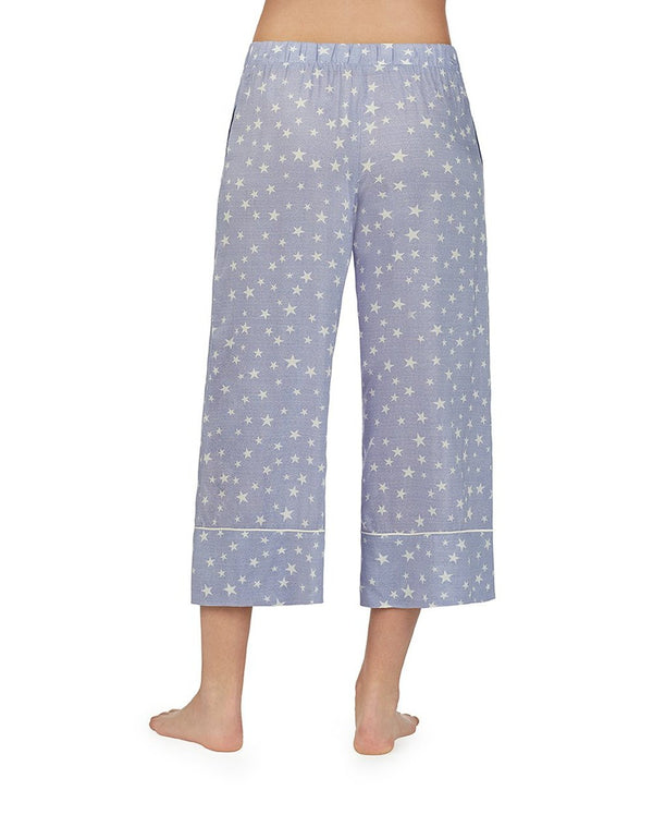BABELAND CULOTTE BLUE - APPAREL - Betsey Johnson