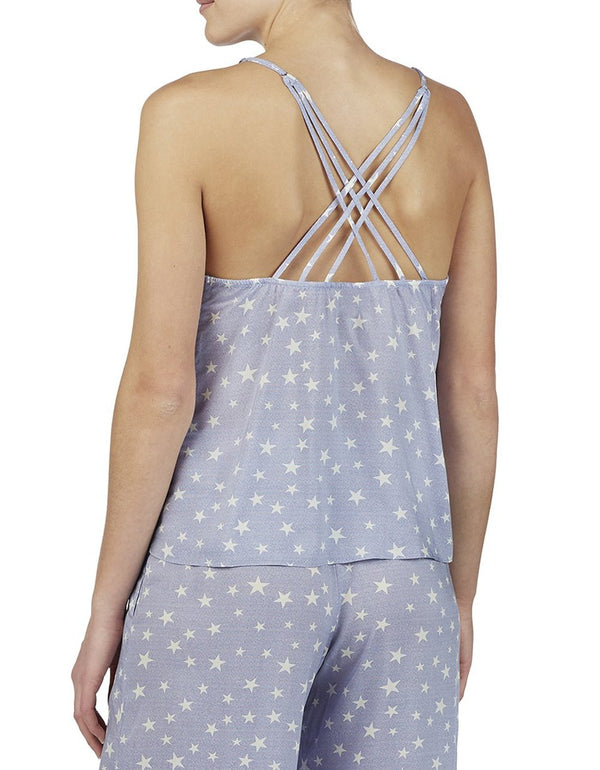 BABELAND STRAPPY CAMI BLUE - APPAREL - Betsey Johnson