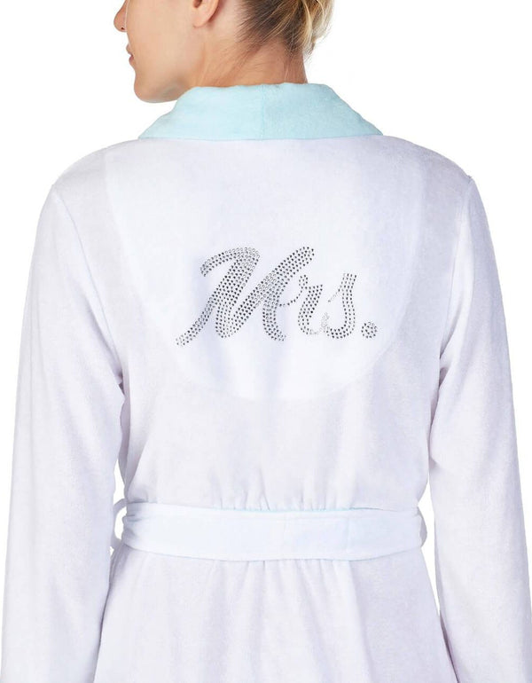 BABY TERRY MRS ROBE WHITE - APPAREL - Betsey Johnson