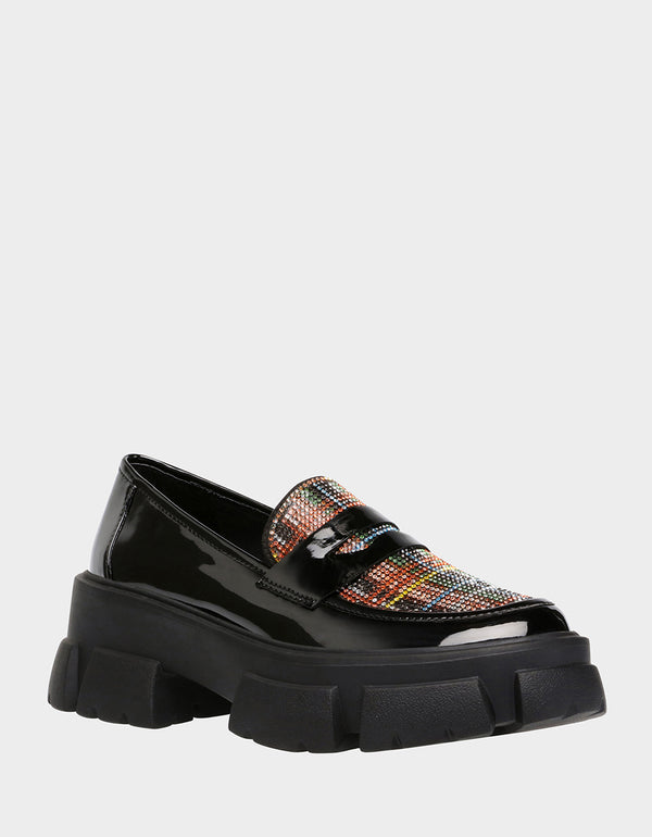 BARRIE BLACK MULTI - SHOES - Betsey Johnson