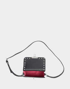 BAUBLE BLING CROSSBODY BLACK