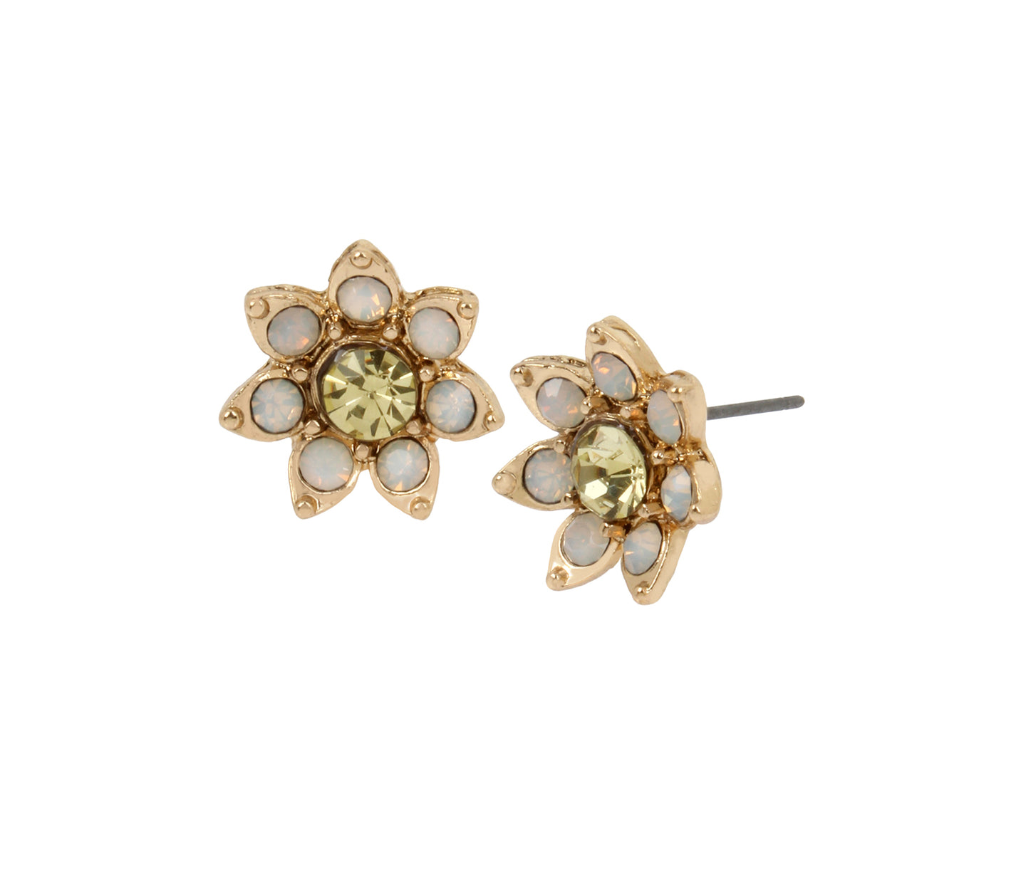 BEE MINE FLOWER STUD EARRINGS YELLOW - JEWELRY - Betsey Johnson