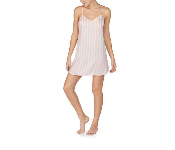 BEST DAY EVER WASHED SATIN SLIP PINK - APPAREL - Betsey Johnson