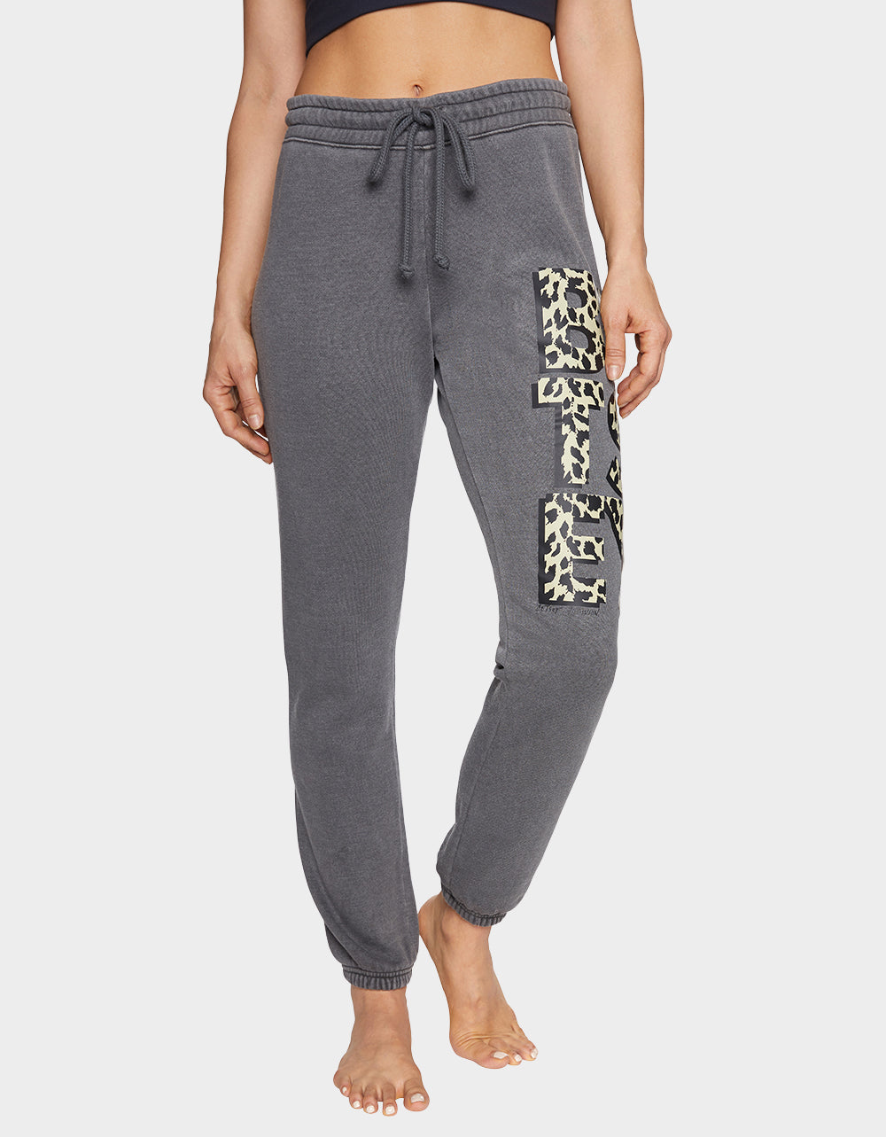BETSEY IS WILD SWEATPANT BLACK - APPAREL - Betsey Johnson