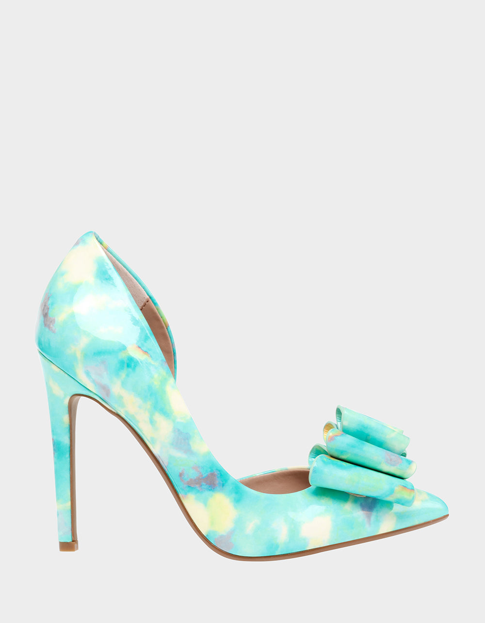 PRINCE-P TURQUOISE MULTI - SHOES - Betsey Johnson