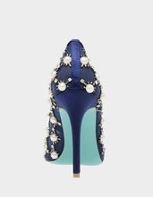 SB-VAL NAVY SATIN - SHOES - Betsey Johnson