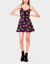 BETSEYS VINTAGE INSPIRED FIT AND FLAIR DRESS CHERRY - LYCRA 2021 - Betsey Johnson