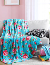 BETSEY LEOPARD TWIN BLANKET PINK - BEDDING - Betsey Johnson