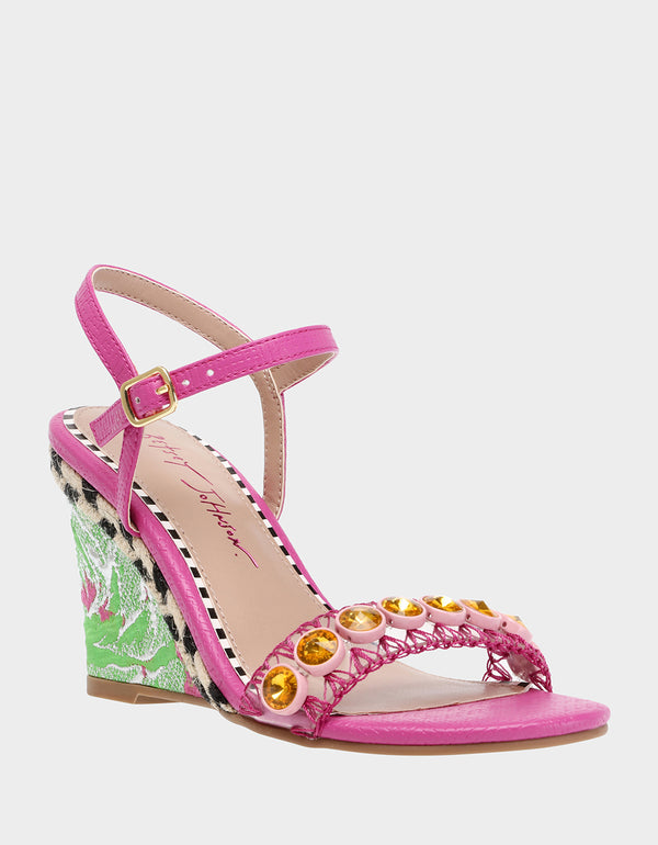 KODI PINK MULTI - SHOES - Betsey Johnson