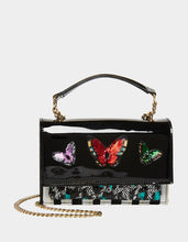 FLY FLY AWAY CROSSBODY BLACK MULTI - HANDBAGS - Betsey Johnson