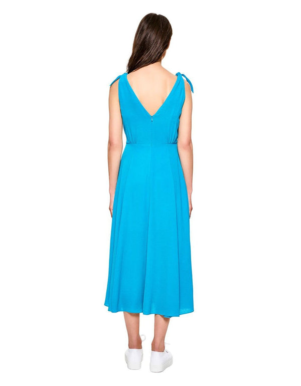INSTANT CONNECTION DRESS TURQUOISE - APPAREL - Betsey Johnson