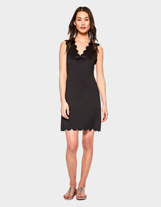 ON THE EDGE DRESS BLACK