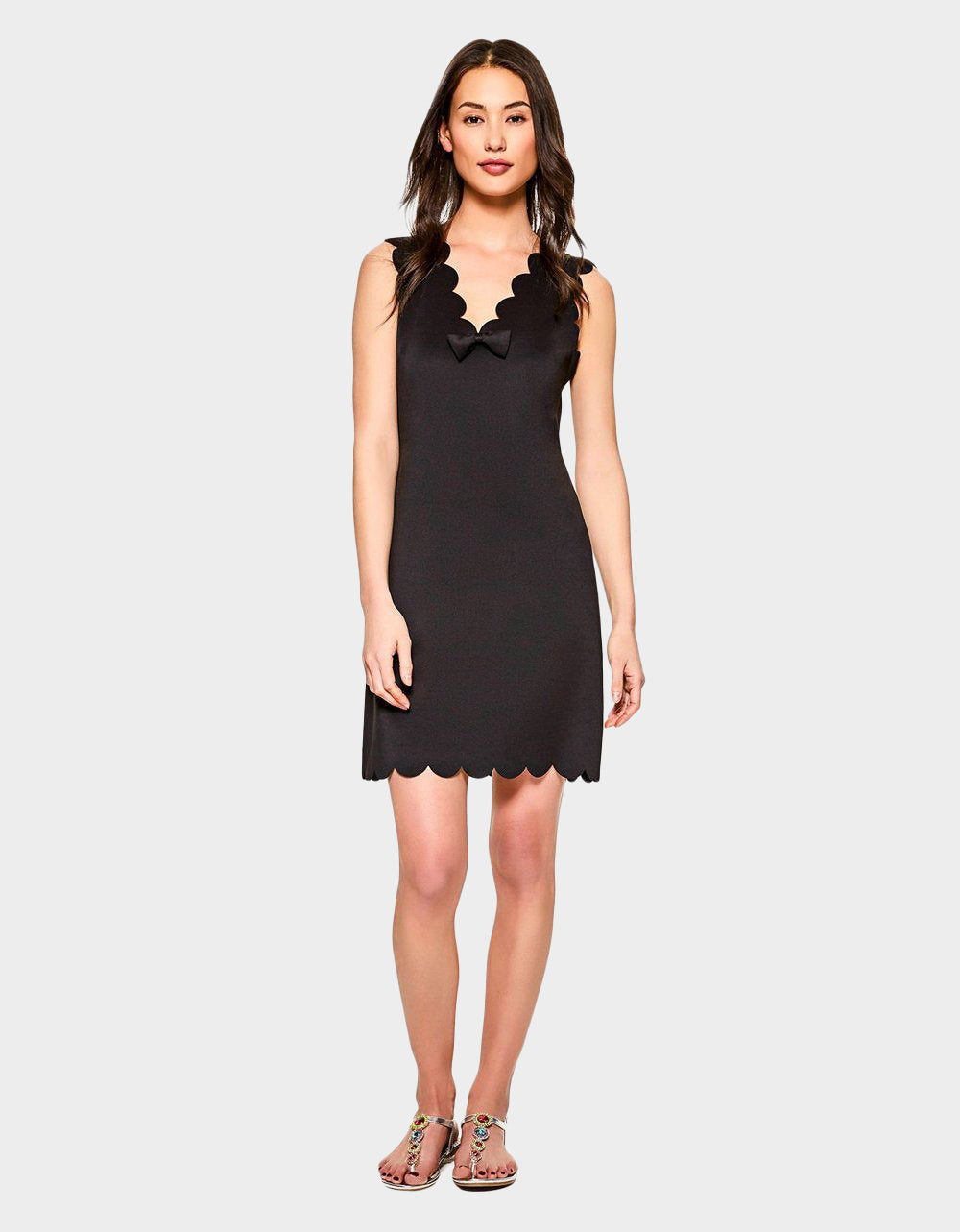 ON THE EDGE DRESS BLACK - APPAREL - Betsey Johnson
